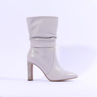 Tamaris Idony High Folded Ankle Boot - Grey Leather