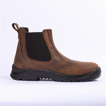 Sixton Slip On Dealer Boot S3 - Brown