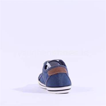 Mustang Lace Shoe - Denim
