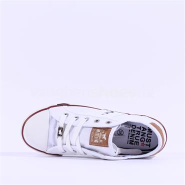 Mustang Lace Shoe - White