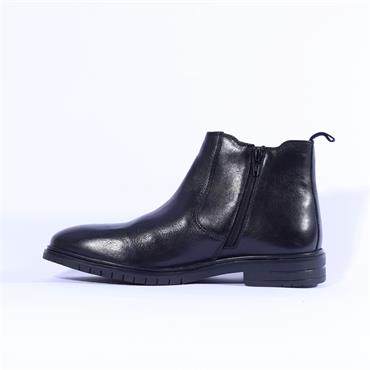 Ara Men Chelsea Gusset Boot Henry - Black Leather