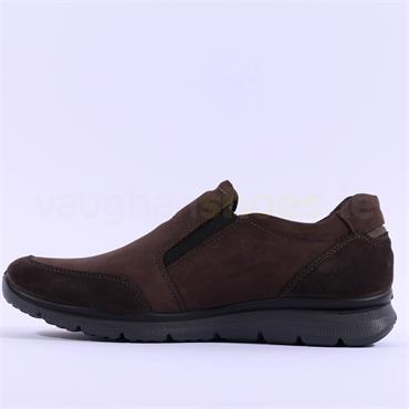 Ara Men Benjo GoreTex Slip On Shoe - Brown Nubuck