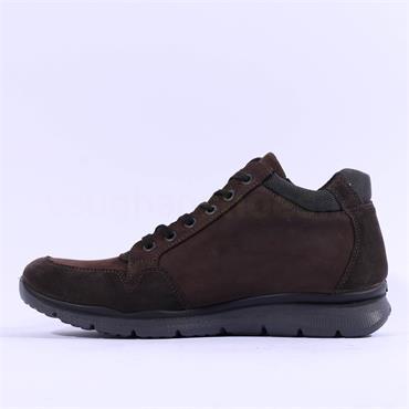 Ara Men Benjo GoreTex Side Zip Boot - Brown Nubuck