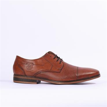 Rieker Clarino Laced Toe Cap - Brown