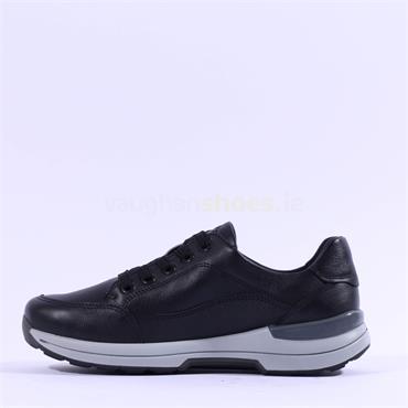 Ara Nara Lace GoreTex Shoe - Black Leather