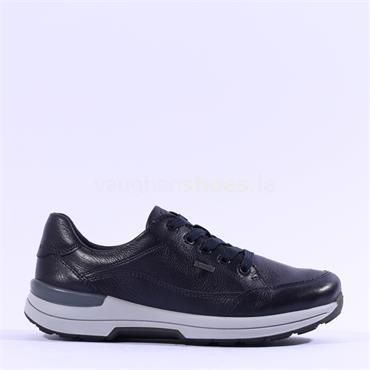 Ara Nara Lace GoreTex Shoe - Navy Leather