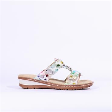 Ara Hawaii Slip On Mule Sandal - Multi