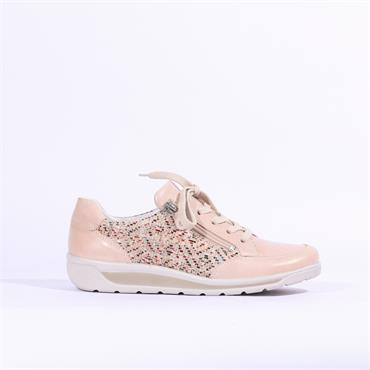 Ara Meran Side Zip Pattern Trainer - Nude Combination