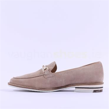 Ara Slip On Loafer With Buckle Kent - Sand