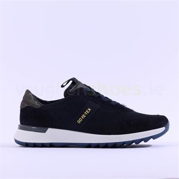 Ara Venice Fusion GoreTex Laced Shoe - Navy Combi