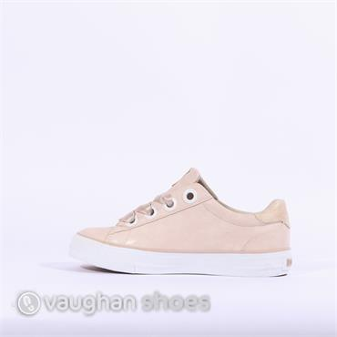Mustang Casual Trainer Ribbon Lace - Light Pink