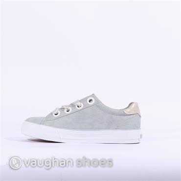 Mustang Casual Trainer Ribbon Lace - LIGHT BLUE