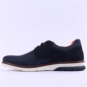 Rieker Tiva Laced Shoe - Navy Combi