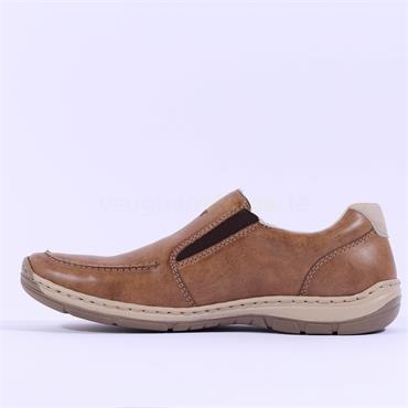 Rieker Elmira Slip On Shoe - Brown
