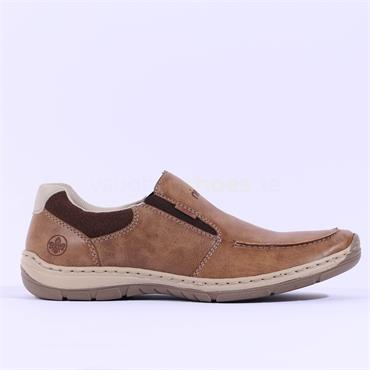Rieker Elmira Slip On Shoe - Brown