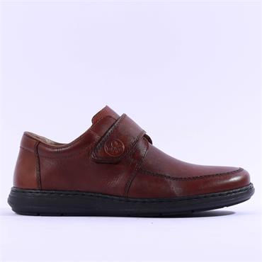 Rieker Clarino Velcro Shoe - Brown