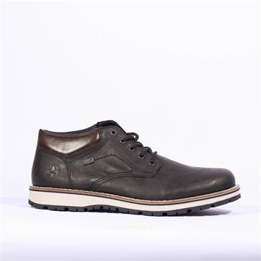 Rieker Men Tamburo Laced Tex Shoe - Black
