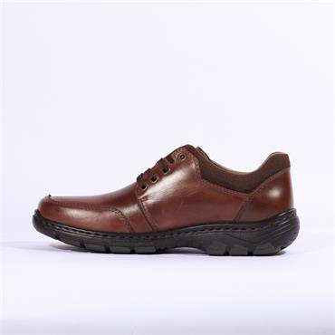 Rieker Ramon Laced Casual Shoe - Brown