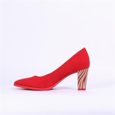 Marco Tozzi Ola High Heel Shoe - Red