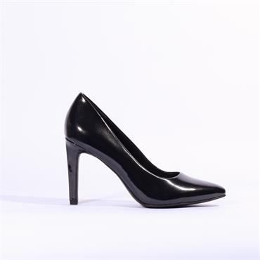 Marco Tozzi Patent High Heel Metato - Black Patent