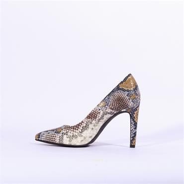 Marco Tozzi Snake Print High Heel Metato - Snake Combi