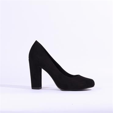 Marco Tozzi Empoli Chunky High Heel - Black