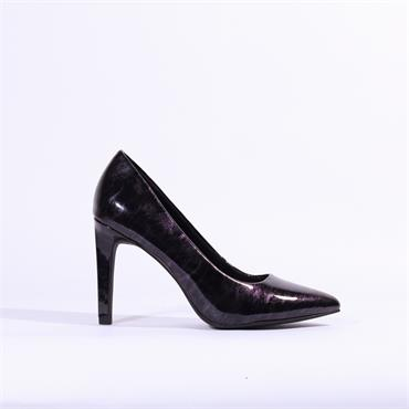 Marco Tozzi Metato Patent High Heel - Multi