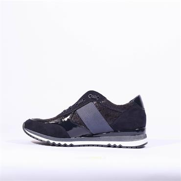 Marco Tozzi Elastic Slip On Shoe Bonallo - Navy