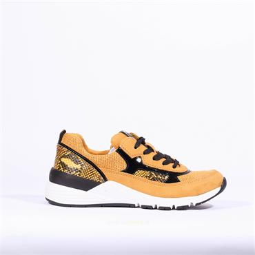 Marco Tozzi Laced Trainer Lizzo - Yellow Combi
