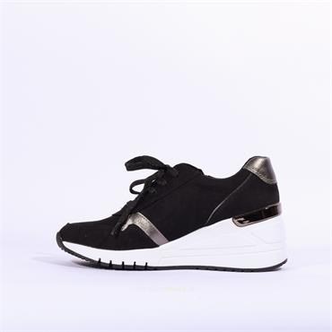 Marco Tozzi Wedge Trainer Magana - Black Combi