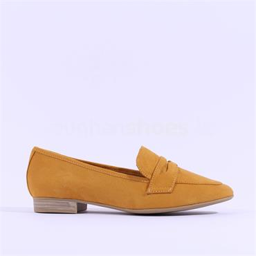 Marco Tozzi Rura Slip On Loafer - Mustard