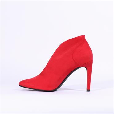 Marco Tozzi Metato V Cut High Heel - Red