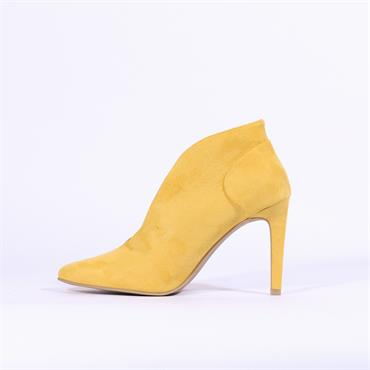 Marco Tozzi Metato V Cut High Heel - Yellow