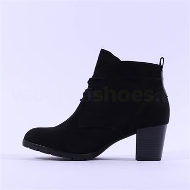 Marco Tozzi Pesa Block Heel Boot - Black