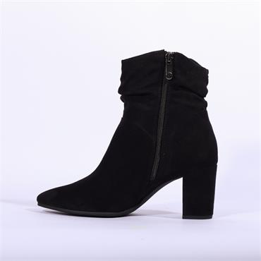 Marco Tozzi Folded Cuff Boot Lode - Black