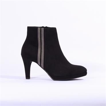 Marco Tozzi Bino Ankle Boot Stripe - Black Combi