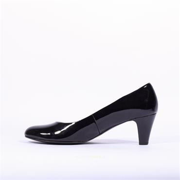 Gabor Court Shoe Vesta - Black Patent