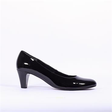 Gabor Court Shoe Vesta - Black Patent