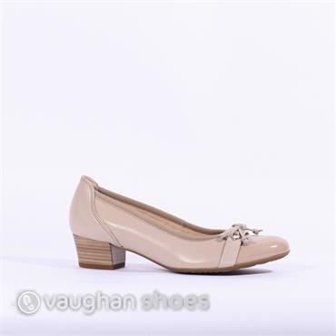 1b2784d4660 Gabor Low Tie Court Shoe Hayley - Beige ...