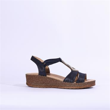 Jenny Marrakesch Sandal Bead Detail - Navy