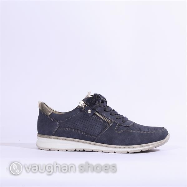 031e65de Jenny Sapporo Lace Side Zip - Navy | Vaughan Shoes | Ireland