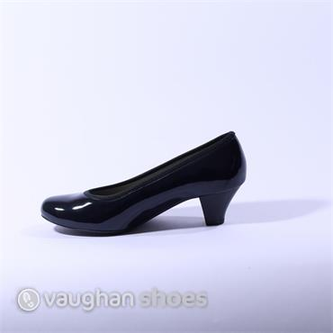 Ara Patent Court Shoe - Navy