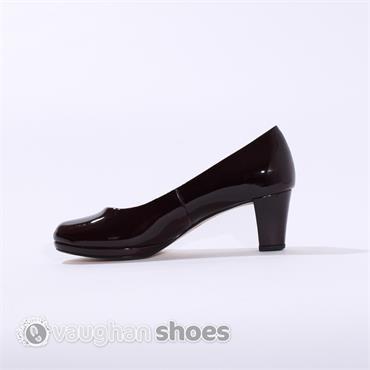 Gabor Platform Court Shoe Figaro - Wine