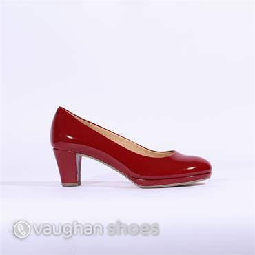 e32649a1a Gabor Platform Court Shoe Figaro - Red ...