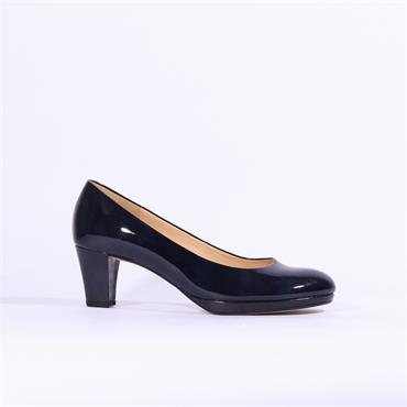 Gabor Platform Court Shoe Figaro - Navy