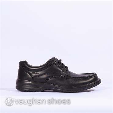 Clarks Keeler Walk - Black Leather