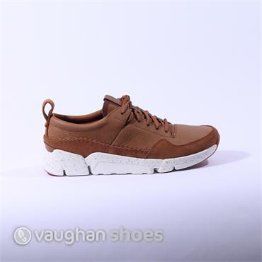 Clarks TriActive Run - Tan Leather