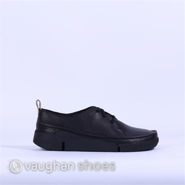 Clarks Tri Clara - Black Leather