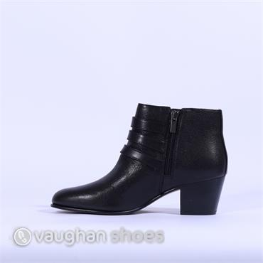 Clarks Maypearl Rayna - Black Leather