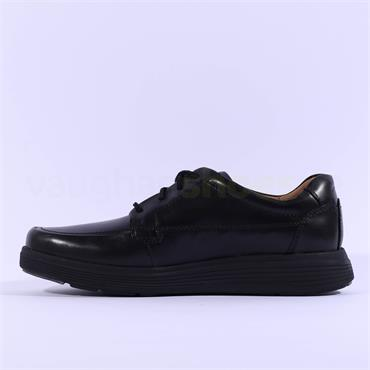Clarks Un Abode Ease - Black Leather